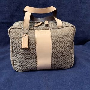 Coach cosmetic toiletry bag